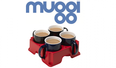 Muggi - possibly the safest drinks tray in the world